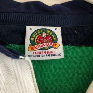 e3b26771f09 Barbarian Rugbywear Inc. Tops - Notre Dame Barbarian Rugby Wear Inc polo  shirt